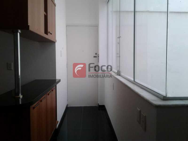 ÁREA SERVIÇO - Apartamento à venda Rua Fonte da Saudade,Lagoa, Rio de Janeiro - R$ 1.850.000 - FLAP32266 - 26