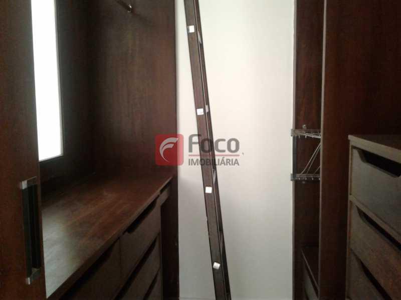 CLOSET DA SUÍTE - Apartamento à venda Rua Fonte da Saudade,Lagoa, Rio de Janeiro - R$ 1.850.000 - FLAP32266 - 9