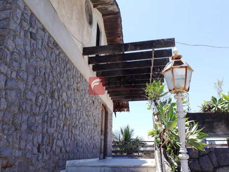 FACHADA CASA1 - Casa à venda Rua Hermenegildo de Barros,Santa Teresa, Rio de Janeiro - R$ 1.400.000 - FLCA90007 - 3