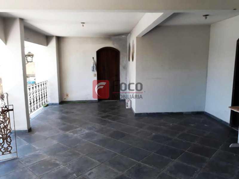 TERRAÇO CASA 1 - Casa à venda Rua Hermenegildo de Barros,Santa Teresa, Rio de Janeiro - R$ 1.400.000 - FLCA90007 - 11
