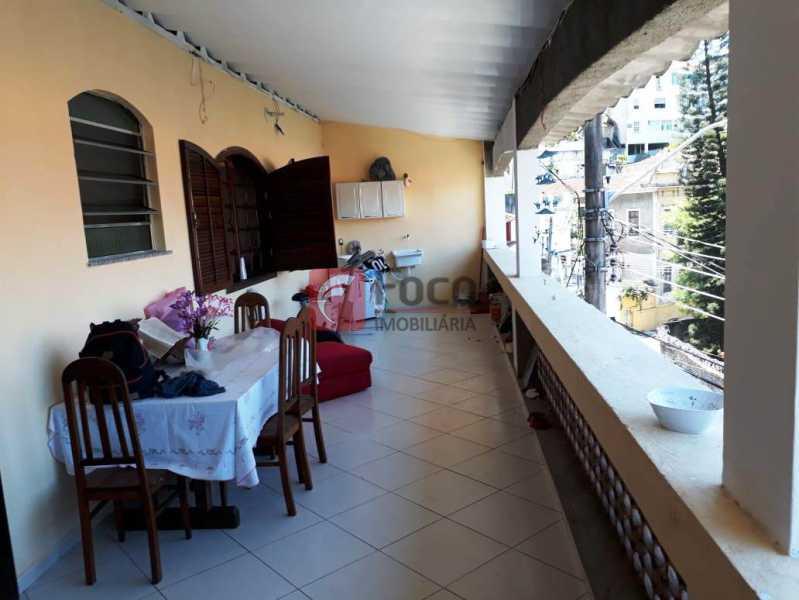 VARANDA CASA 2 - Casa à venda Rua Hermenegildo de Barros,Santa Teresa, Rio de Janeiro - R$ 1.400.000 - FLCA90007 - 19