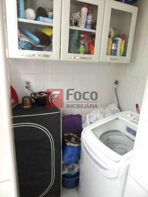 BANHEIRO EMPREGADA - Apartamento à venda Rua Santo Amaro,Glória, Rio de Janeiro - R$ 580.000 - FLAP22453 - 15
