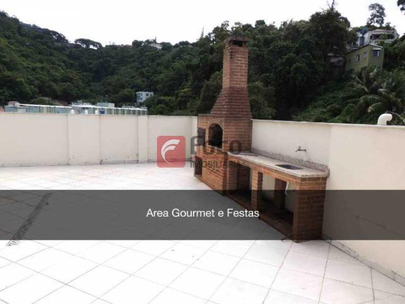 CHURRASQUEIRA - Apartamento à venda Rua Santo Amaro,Glória, Rio de Janeiro - R$ 580.000 - FLAP22453 - 16