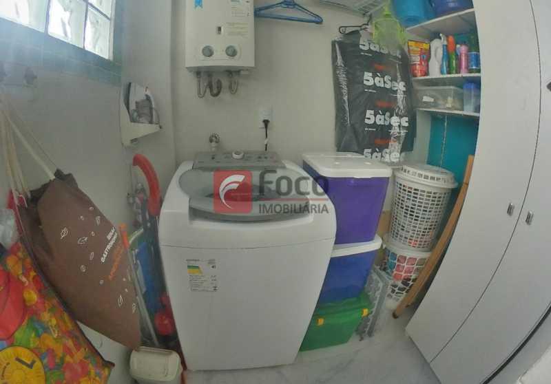 QUARTO  EMPREGADA - Apartamento À Venda - Flamengo - Rio de Janeiro - RJ - FLAP22458 - 17