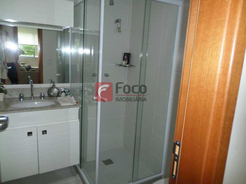 BANHEIRO SOCIAL - Apartamento à venda Rua Macedo Sobrinho,Humaitá, Rio de Janeiro - R$ 1.395.000 - FLAP32290 - 14