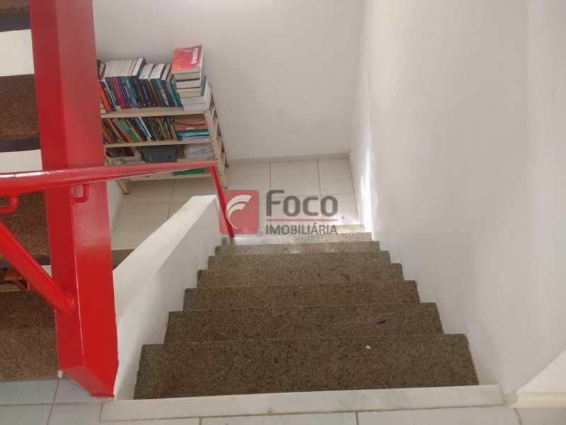 ESCADA LINEAR - Casa de Vila à venda Travessa Visconde de Morais,Botafogo, Rio de Janeiro - R$ 2.450.000 - FLCV50005 - 9