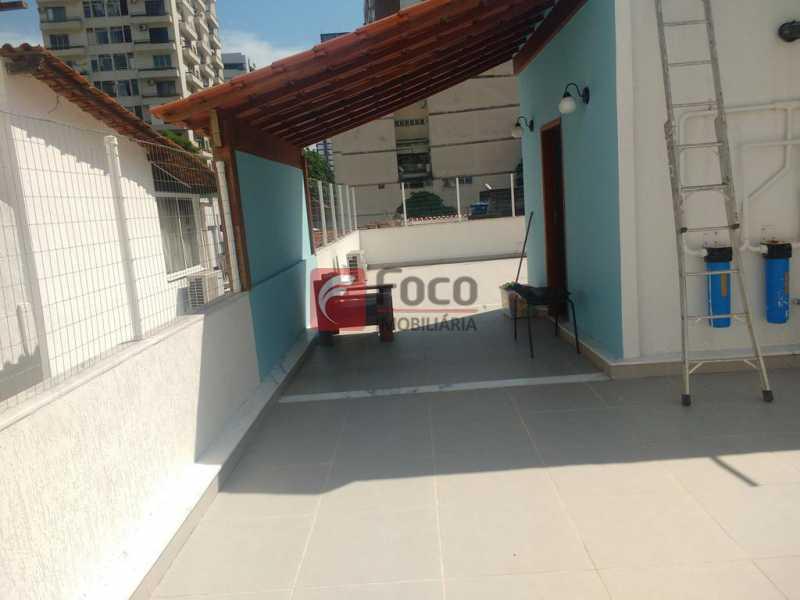 TERRAÇO - Casa de Vila à venda Travessa Visconde de Morais,Botafogo, Rio de Janeiro - R$ 2.450.000 - FLCV50005 - 22