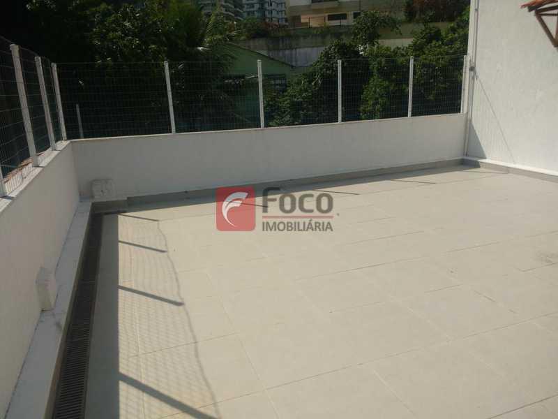 TERRAÇO - Casa de Vila à venda Travessa Visconde de Morais,Botafogo, Rio de Janeiro - R$ 2.450.000 - FLCV50005 - 21