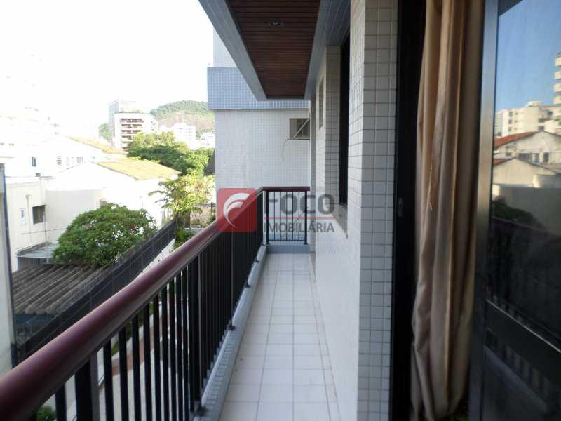 VARANDA - Apartamento à venda Rua Professor Alfredo Gomes,Botafogo, Rio de Janeiro - R$ 1.200.000 - FLAP22482 - 6