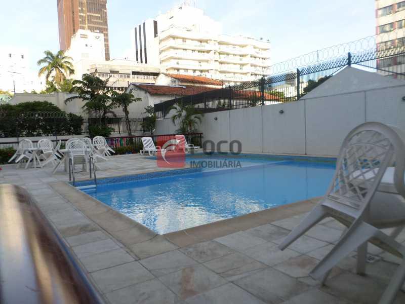 PISCINA - Apartamento à venda Rua Professor Alfredo Gomes,Botafogo, Rio de Janeiro - R$ 1.200.000 - FLAP22482 - 1