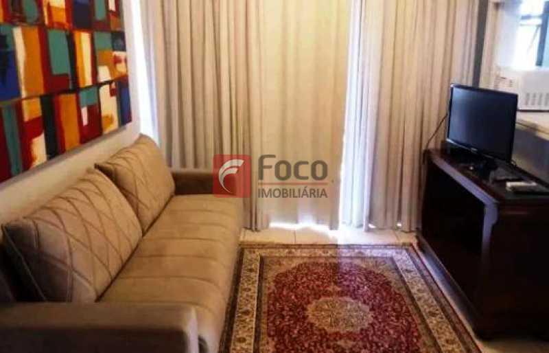 2 - Flat à venda Avenida Bartolomeu Mitre,Leblon, Rio de Janeiro - R$ 1.500.000 - JBFL10036 - 1