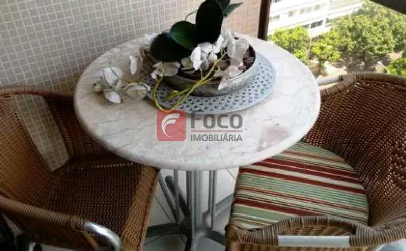 4 - Flat à venda Avenida Bartolomeu Mitre,Leblon, Rio de Janeiro - R$ 1.500.000 - JBFL10036 - 5
