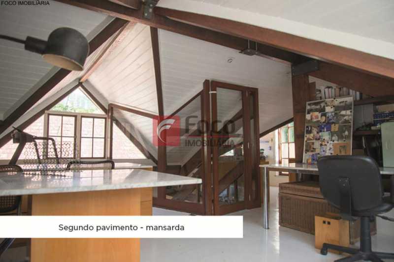 sotão - Casa 4 quartos à venda Jardim Botânico, Rio de Janeiro - R$ 3.870.000 - JBCA40052 - 10