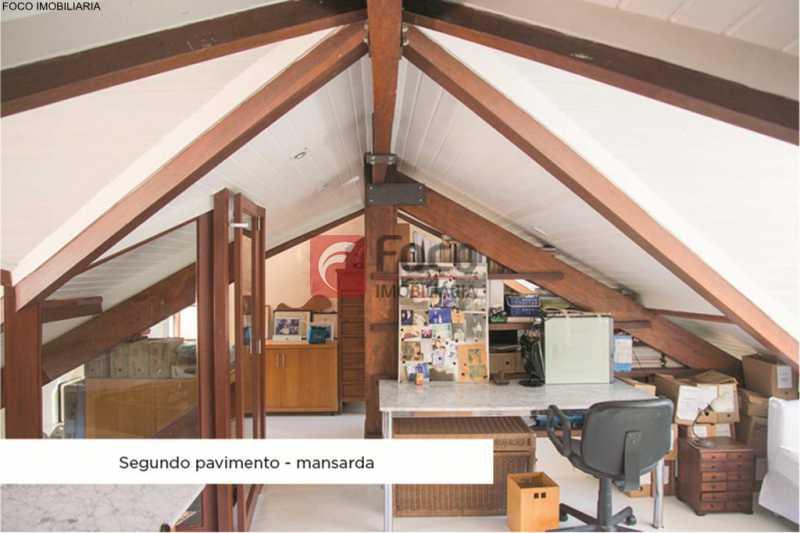sotão - Casa 4 quartos à venda Jardim Botânico, Rio de Janeiro - R$ 3.870.000 - JBCA40052 - 19