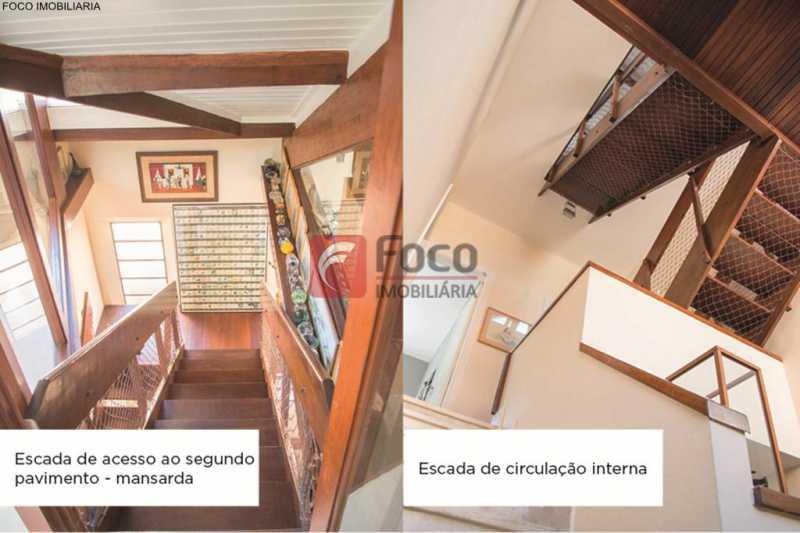acesso ao sotão - Casa 4 quartos à venda Jardim Botânico, Rio de Janeiro - R$ 3.870.000 - JBCA40052 - 18