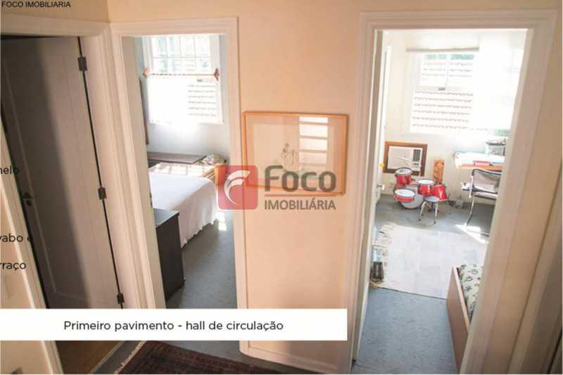 quartos - Casa 4 quartos à venda Jardim Botânico, Rio de Janeiro - R$ 3.870.000 - JBCA40052 - 11