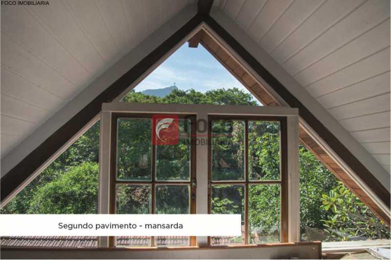 vista - Casa 4 quartos à venda Jardim Botânico, Rio de Janeiro - R$ 3.870.000 - JBCA40052 - 3