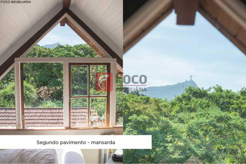 vista - Casa 4 quartos à venda Jardim Botânico, Rio de Janeiro - R$ 3.870.000 - JBCA40052 - 17