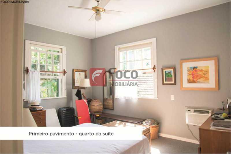 quarto suite - Casa 4 quartos à venda Jardim Botânico, Rio de Janeiro - R$ 3.870.000 - JBCA40052 - 13