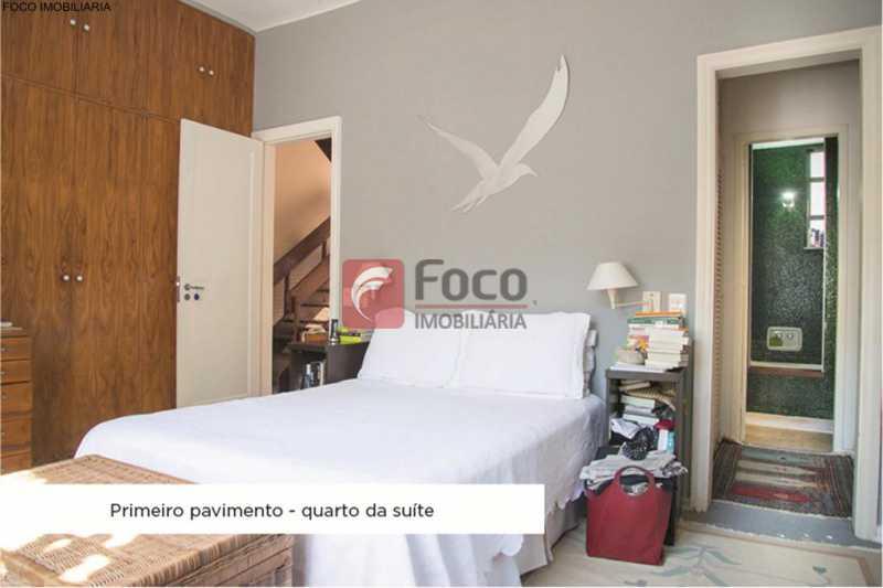 quarto suíte  ang 1 - Casa 4 quartos à venda Jardim Botânico, Rio de Janeiro - R$ 3.870.000 - JBCA40052 - 12