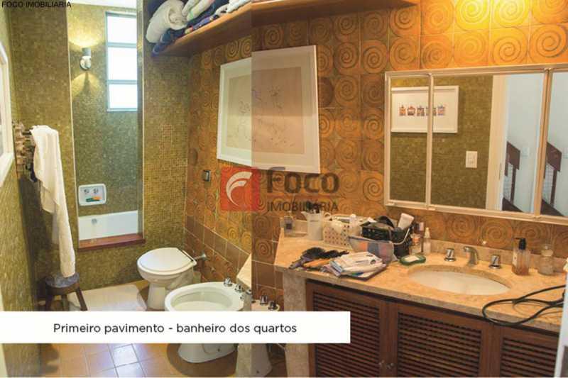 banheiro suíte - Casa 4 quartos à venda Jardim Botânico, Rio de Janeiro - R$ 3.870.000 - JBCA40052 - 14