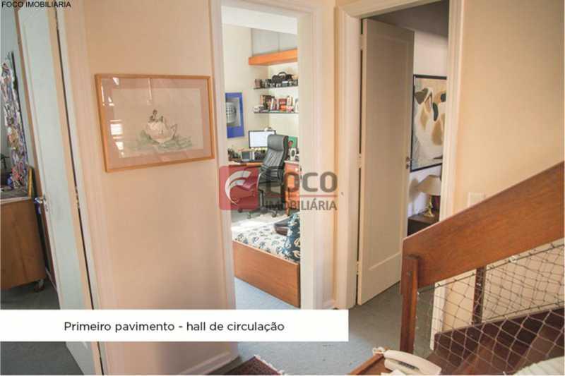 acesso quartos - Casa 4 quartos à venda Jardim Botânico, Rio de Janeiro - R$ 3.870.000 - JBCA40052 - 23