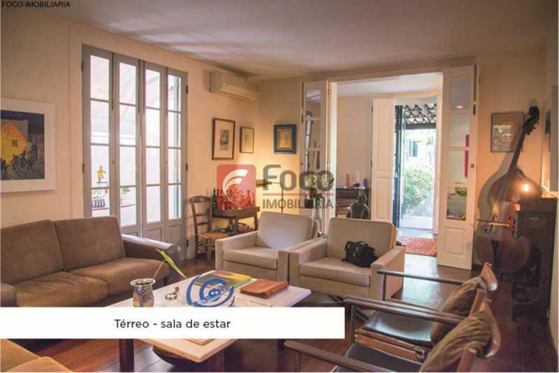 sala 2 - Casa 4 quartos à venda Jardim Botânico, Rio de Janeiro - R$ 3.870.000 - JBCA40052 - 1