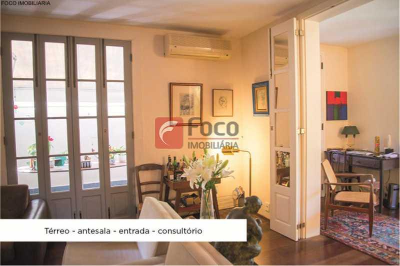 sala 2 ang 1 - Casa 4 quartos à venda Jardim Botânico, Rio de Janeiro - R$ 3.870.000 - JBCA40052 - 5