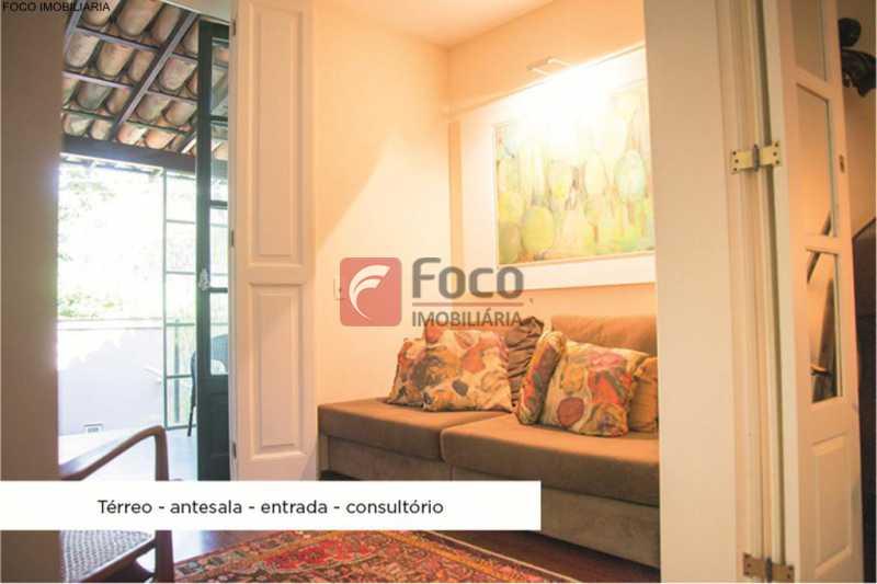 hall - Casa 4 quartos à venda Jardim Botânico, Rio de Janeiro - R$ 3.870.000 - JBCA40052 - 22
