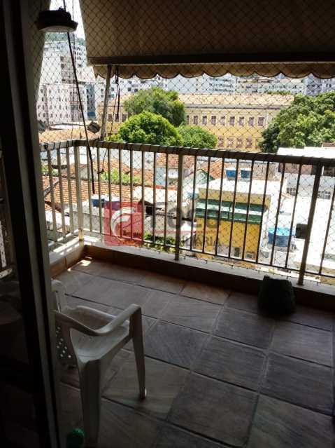 VARANDA - Apartamento 3 quartos à venda Laranjeiras, Rio de Janeiro - R$ 1.550.000 - FLAP32345 - 18