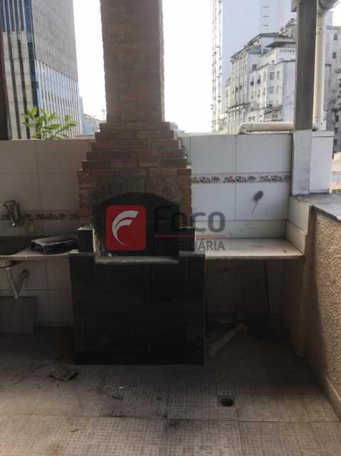 TERRAÇO - Sala Comercial 35m² à venda Rua Alcindo Guanabara,Centro, Rio de Janeiro - R$ 220.000 - FLSL00095 - 25
