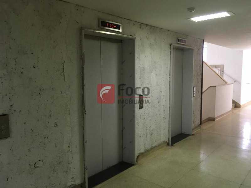HALL DE ELEVADORES - Sala Comercial 35m² à venda Rua Alcindo Guanabara,Centro, Rio de Janeiro - R$ 220.000 - FLSL00095 - 24