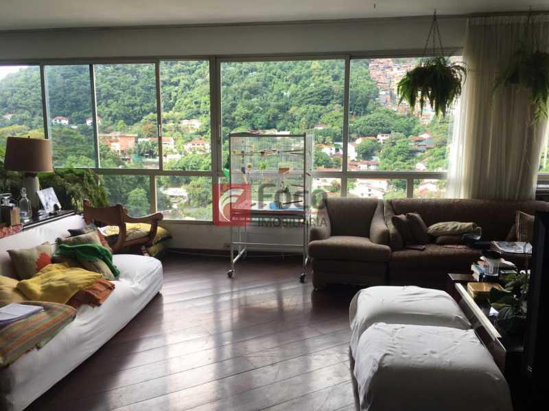 SALA - Apartamento à venda Estrada da Gávea,Gávea, Rio de Janeiro - R$ 2.180.000 - FLAP40557 - 4