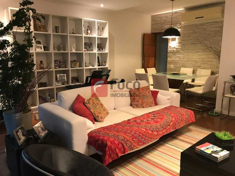 Sala1 - Apartamento Jardim Botânico,Rio de Janeiro,RJ À Venda,3 Quartos,127m² - JBAP31275 - 4