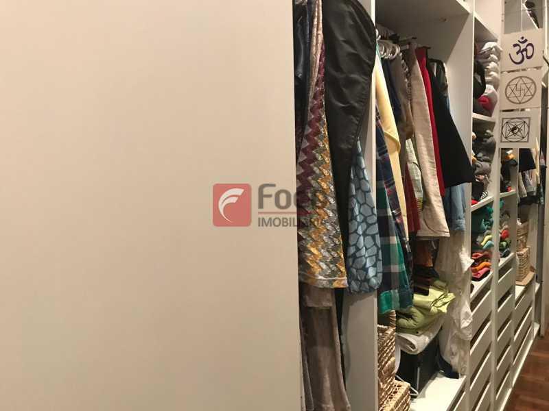 Closet - Apartamento Jardim Botânico,Rio de Janeiro,RJ À Venda,3 Quartos,127m² - JBAP31275 - 25