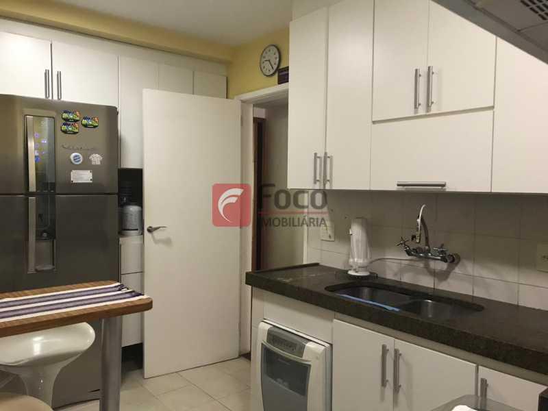 Cozinha - Apartamento Jardim Botânico,Rio de Janeiro,RJ À Venda,3 Quartos,127m² - JBAP31275 - 21