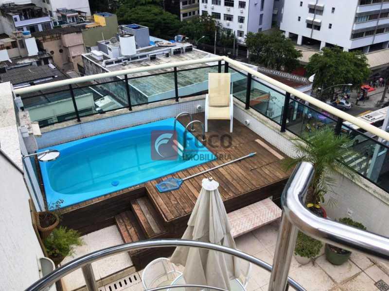 1 - Cobertura à venda Rua Jardim Botânico,Jardim Botânico, Rio de Janeiro - R$ 2.450.000 - JBCO30162 - 1