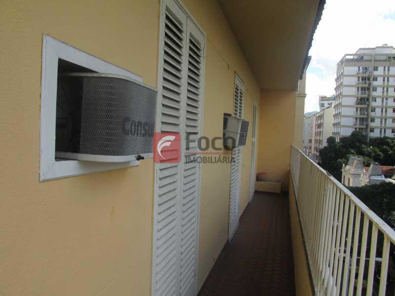 varanda acesso a 3 quartos - Cobertura à venda Rua Voluntários da Pátria,Botafogo, Rio de Janeiro - R$ 1.750.000 - JBCO50014 - 19