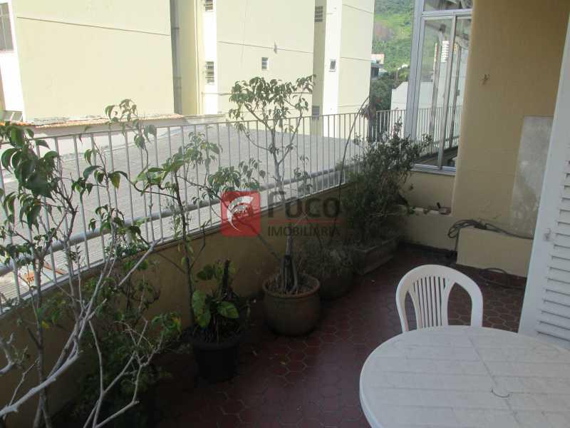 varanda aberta - Cobertura à venda Rua Voluntários da Pátria,Botafogo, Rio de Janeiro - R$ 1.750.000 - JBCO50014 - 4