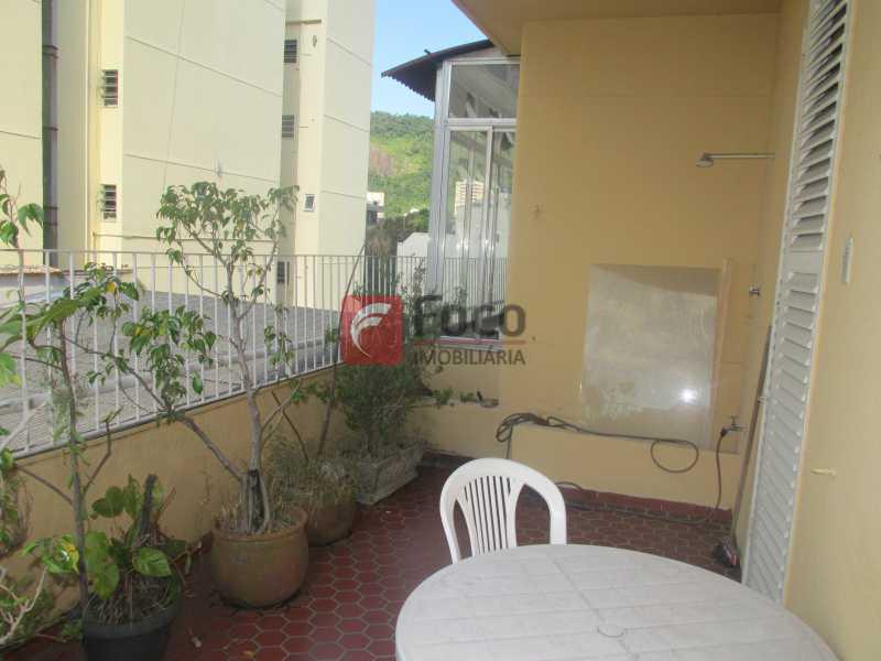 varanda aberta - Cobertura à venda Rua Voluntários da Pátria,Botafogo, Rio de Janeiro - R$ 1.750.000 - JBCO50014 - 16
