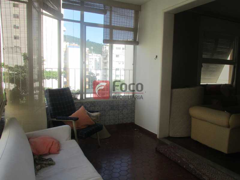 varanda fechada - Cobertura à venda Rua Voluntários da Pátria,Botafogo, Rio de Janeiro - R$ 1.750.000 - JBCO50014 - 3
