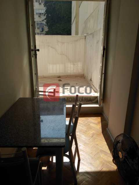 SALA / ÁREA EXTERNA - Apartamento à venda Rua Almirante Tamandaré,Flamengo, Rio de Janeiro - R$ 480.000 - FLAP11352 - 12