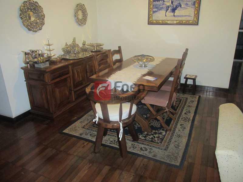 sala de jantar - Apartamento À Venda - Jardim Botânico - Rio de Janeiro - RJ - JBAP40347 - 6