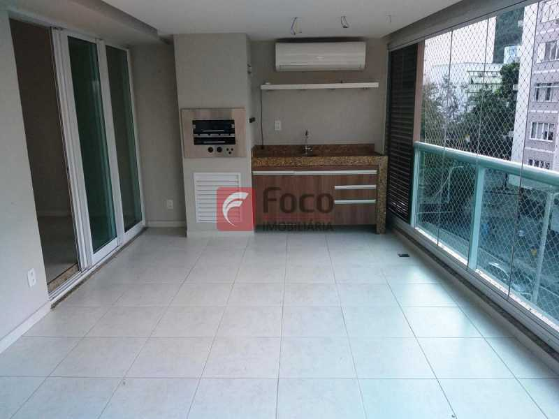 VARANDA GOURMET  - Apartamento à venda Rua Voluntários da Pátria,Humaitá, Rio de Janeiro - R$ 1.450.000 - FLAP32375 - 1