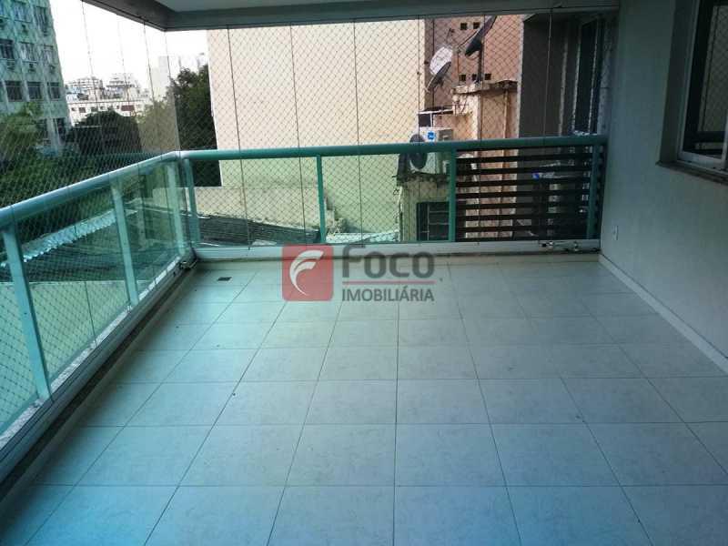 VARANDA GOURMET - Apartamento à venda Rua Voluntários da Pátria,Humaitá, Rio de Janeiro - R$ 1.450.000 - FLAP32375 - 4