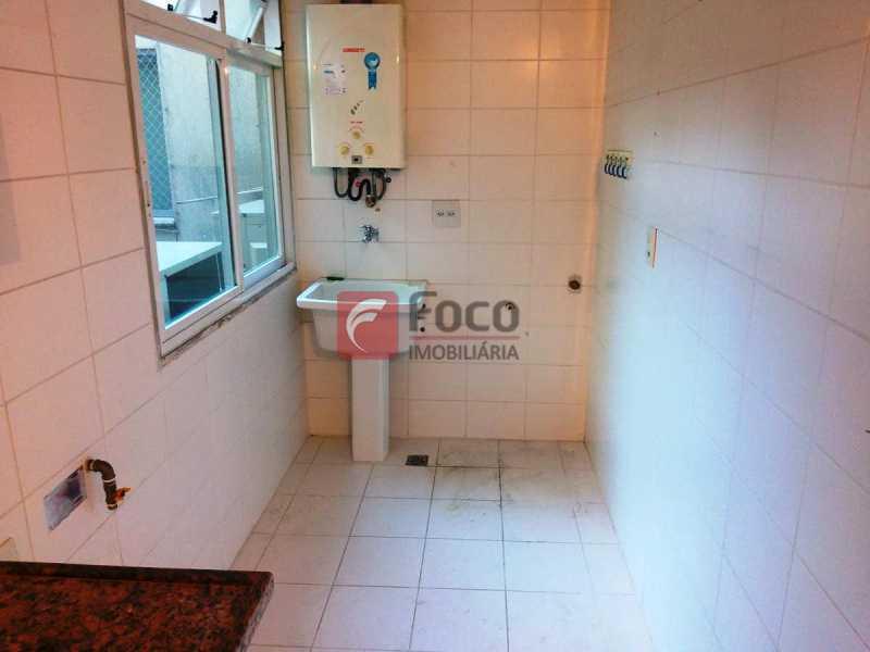 ÁREA SERVIÇO - Apartamento à venda Rua Voluntários da Pátria,Humaitá, Rio de Janeiro - R$ 1.450.000 - FLAP32375 - 15