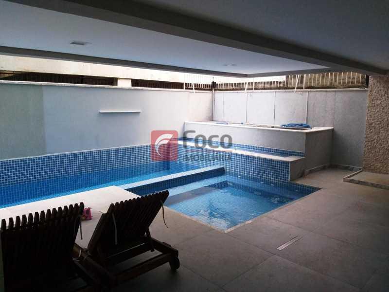 PISCINAS - Apartamento à venda Rua Voluntários da Pátria,Humaitá, Rio de Janeiro - R$ 1.450.000 - FLAP32375 - 16