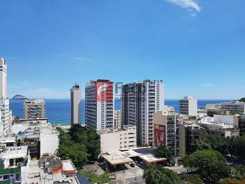 VISTA DO IMÓVEL - Apartamento à venda Avenida Bartolomeu Mitre,Leblon, Rio de Janeiro - R$ 1.420.000 - FLAP11356 - 16