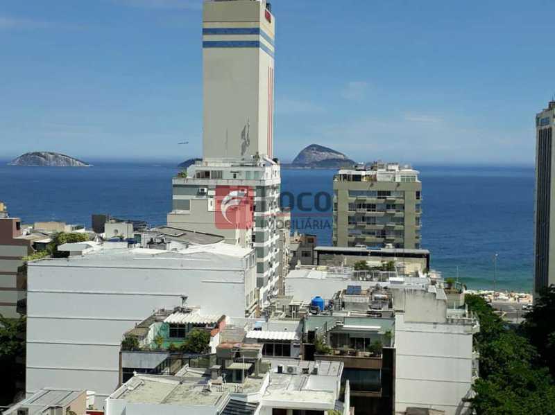 VISTA DO IMÓVEL - Apartamento à venda Avenida Bartolomeu Mitre,Leblon, Rio de Janeiro - R$ 1.420.000 - FLAP11356 - 9