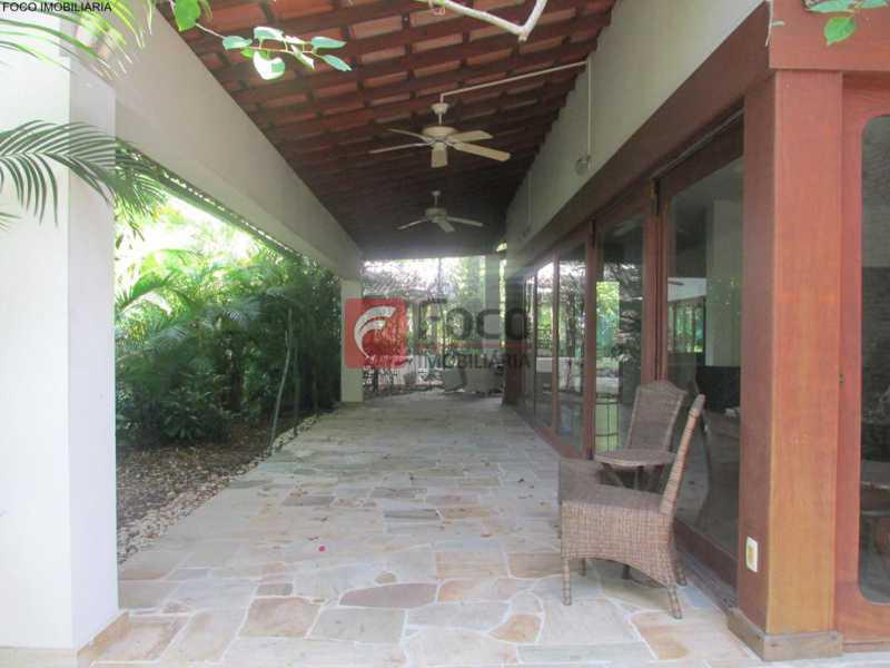 IMG_6709 Copy - Casa à venda Rua Ministro Artur Ribeiro,Jardim Botânico, Rio de Janeiro - R$ 10.500.000 - JBCA70003 - 4
